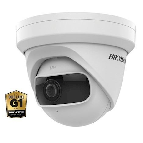 Hikvision DS-2CD2345G0P-I, binnengebruik, 4MP, 1.68mm, 120dB WDR, 180°