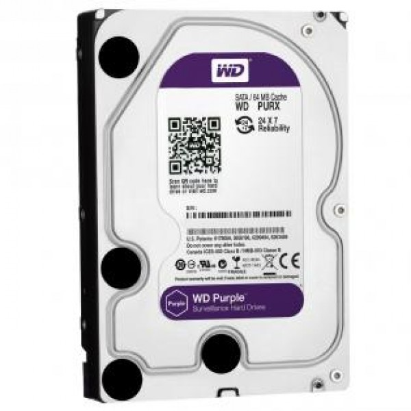 WD Purple 1-2-3-4 TB Hdd