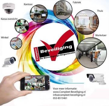 Compleet-Beveiliging - Bewaking Camera's & Alarmsystemen